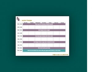 First Rate PA Isolation timetable downsload