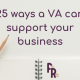 25 ways a VA can support your business